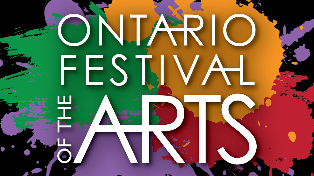 Ontario Festival of the Arts graphic