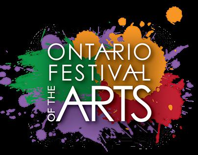 Ontario Festival of the Arts logo
