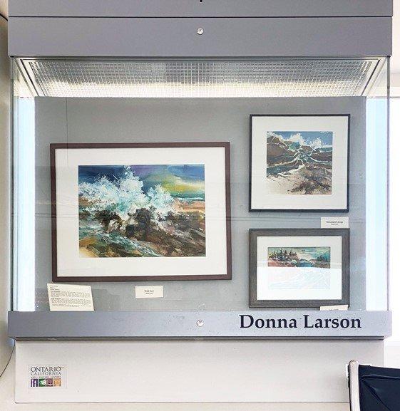 Airport Art Display